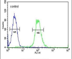 Ku70 Antibody (PA5-25012) in Flow Cytometry