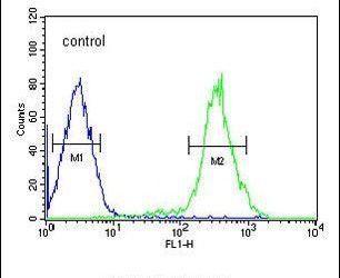 YLAT2 Antibody (PA5-25223) in Flow Cytometry
