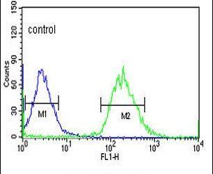 YME1L1 Antibody (PA5-24808) in Flow Cytometry