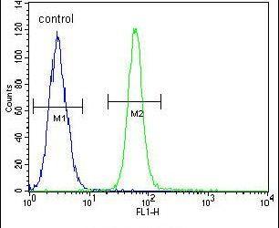 ZMYND10 Antibody (PA5-25732) in Flow Cytometry