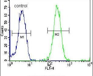 ZNF780A Antibody (PA5-24037) in Flow Cytometry