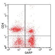 GARP Antibody (PA5-23301) in Flow Cytometry