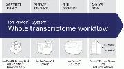 Ion Proton™ System Whole Transcriptome Workflow